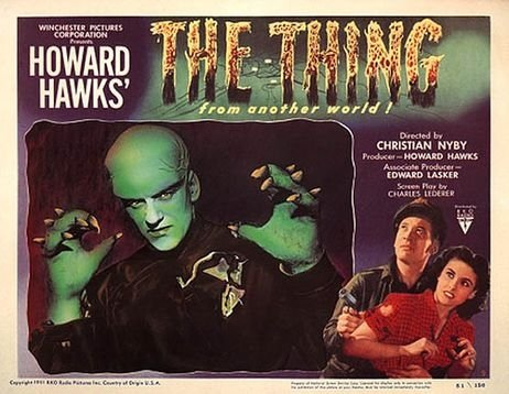 The thing from another world lands on scary movie saturday for The thing that came from outer space