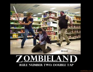 Zombieland motivational poster