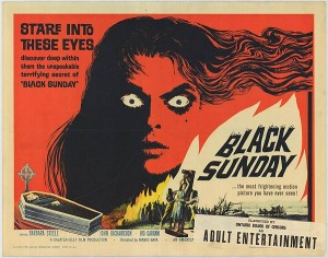 Black Sunday -poster (1960)