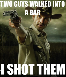 Funny Rick Grimes Walking Dead Picture