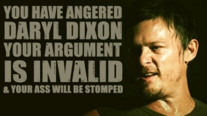 funny Daryl Dxon - The Walking Dead