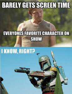 Daryl Dixon Boba Fett The Walking Dead