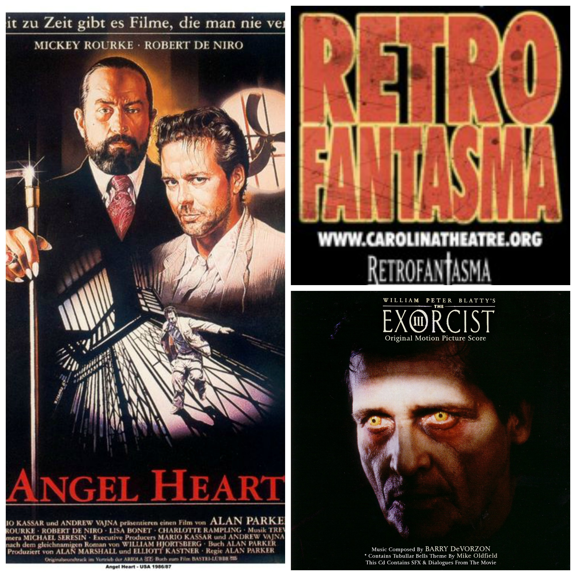 """Antiviral"" screens in Charlotte at BAFS, Retrofantasma shows ""The Exorcist III"" & ""Angel Heart"" while ""Star Trek Into Darkness"" & ""Man of Steel"" Trailers touch down on Mutantville Monday!"