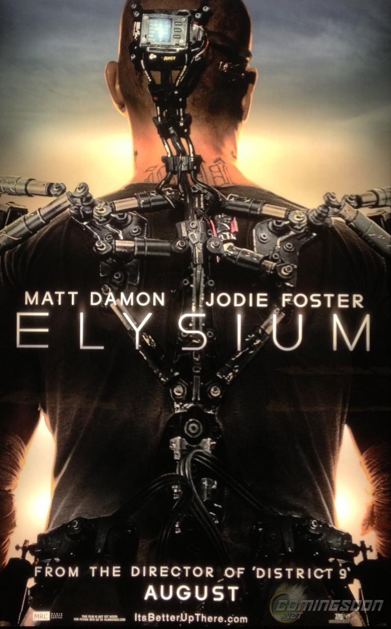 Elysium (2013) Trailer saves the 1% on Trailer Park Tuesday.