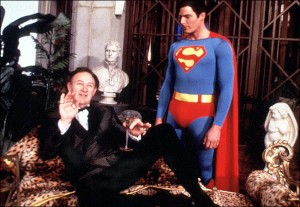 Superman and Lex Luthor-Christoper Reeve and Gene Hackman