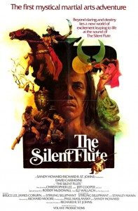 David Carradine in Bruce Lee's story The Silent Flute (aka Circle of Iron)