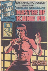 Shang Chi Master of Kung Fu - son of Fu Manchu.