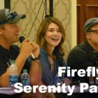 Firefly & Serenity Panel with Adam Baldwin, Alan Tudyk, Jewel Staite & Nathan Fillion(?) at Fandom Fest 2013