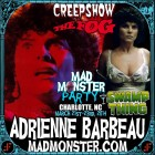 ADRIENNE BARBEAU JOINS MAD MONSTER PARTY 2014!