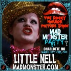 "NELL CAMPBELL (AKA ""Little Nell"", AKA COLUMBIA!) joins the Party in Charlotte March 21st-23rd!"