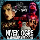 NIVEK OGRE returns to Charlotte, NC March 21st-23rd for the Mad Monster Party 2014!