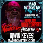 IRWIN KEYES JOINS MAD MONSTER PARTY 2014!