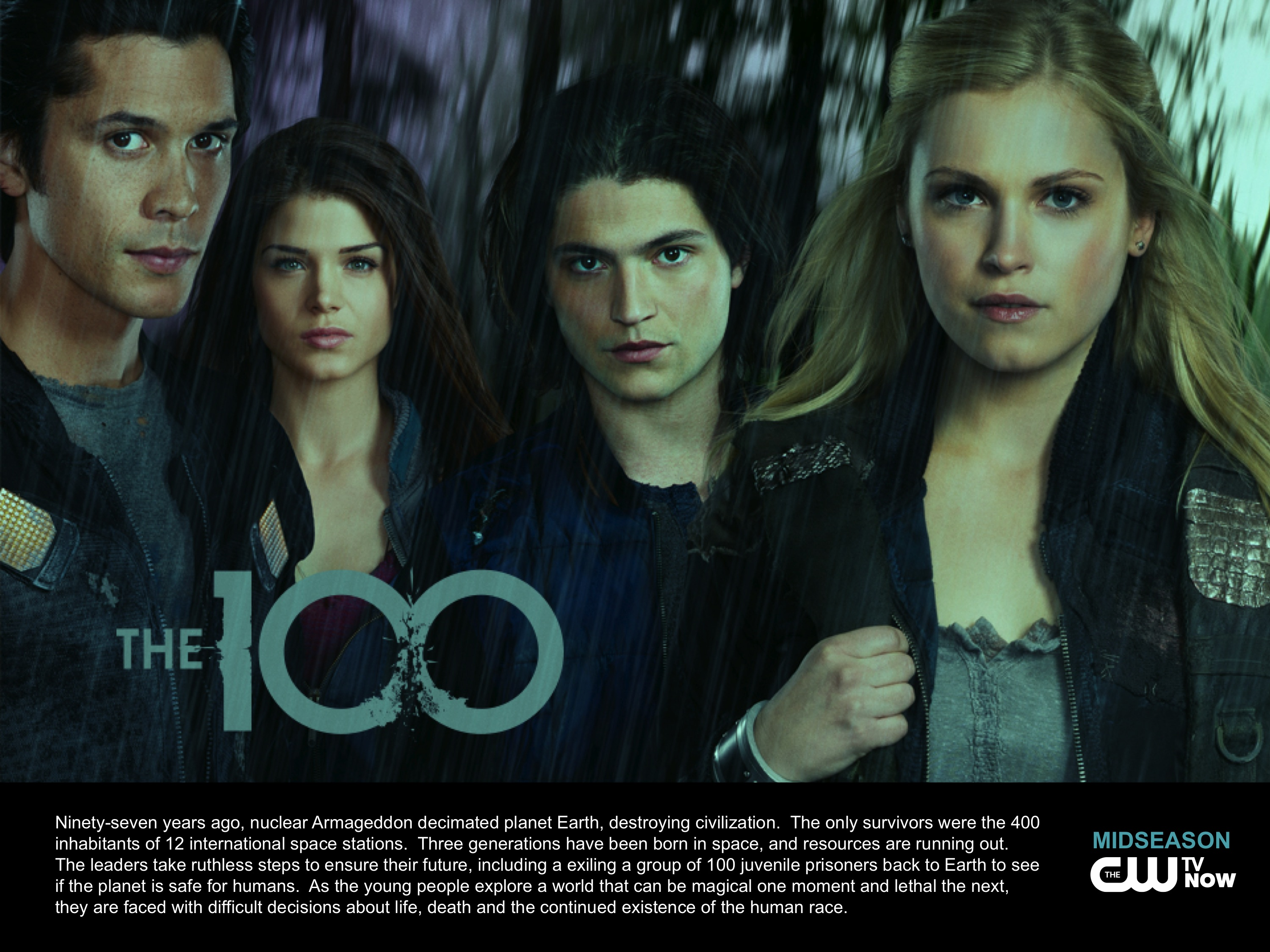 The 100 (2014 - )地球百子 CW-THE-100-OneSheet