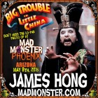 DON'T MISS THE LO PAN PHOTO OP WITH JAMES HONG AT MAD MONSTER PHOENIX 2015!